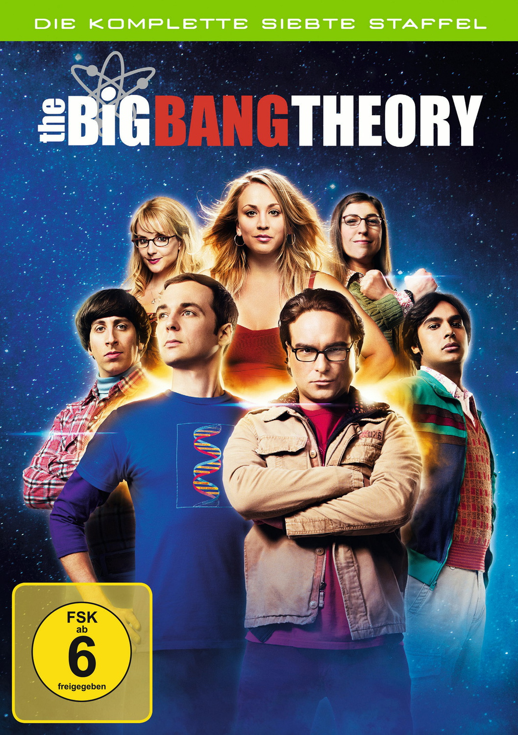 The Big Bang Theory - Staffel 7 [3 DVDs]