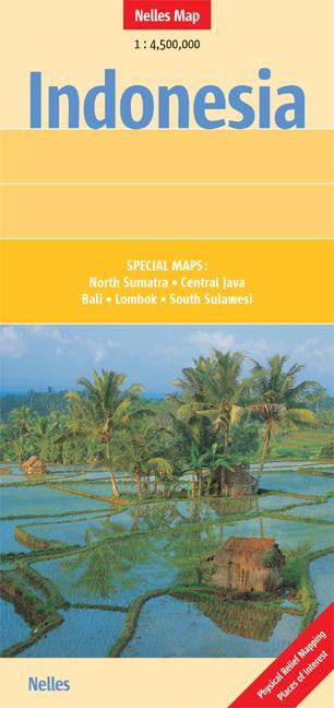 Indonesia 1 : 4 500 000 (Nelles Map) - Günter Nelles