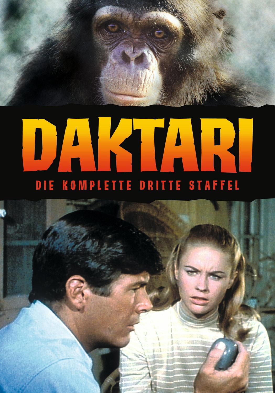 Daktari - Die komplette dritte Staffel [7 DVDs]