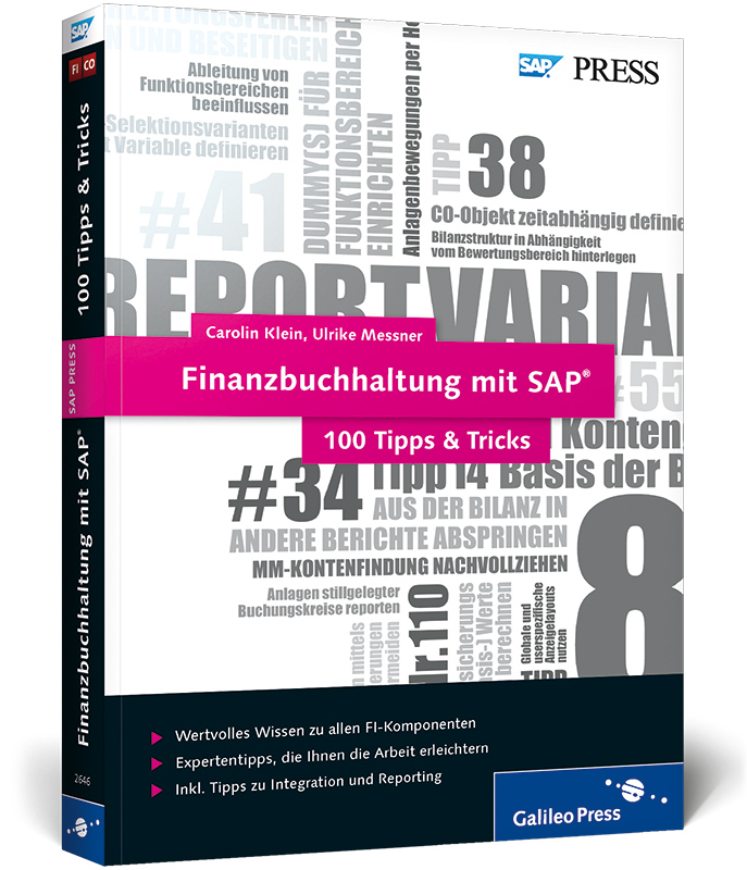 Finanzbuchhaltung mit SAP 100 Tipps & Tricks (S...