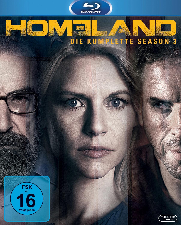 Homeland: Season 3 [3 Discs]