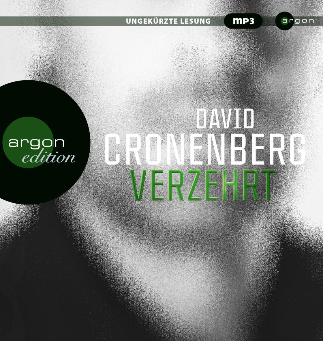 Verzehrt - David Cronenberg [Audio CD]