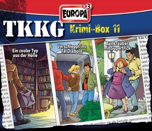 TKKG - Krimi-Box: Folgen 121 / 137 / 142 [3er Box]