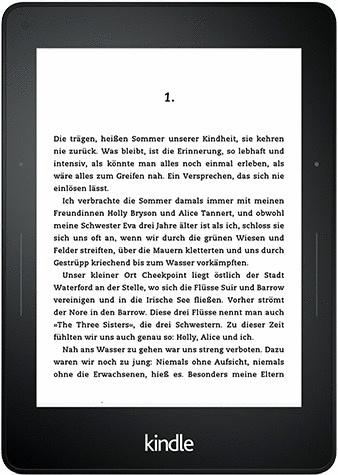 Amazon Kindle Voyage 6 4GB [Wi-Fi] schwarz