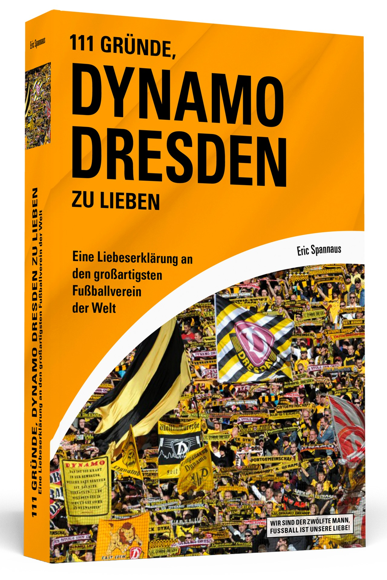 111 Gründe, Dynamo Dresden zu lieben - Eine Liebeserklärung an den großartigsten Fußballverein der Welt - Eric Spannaus