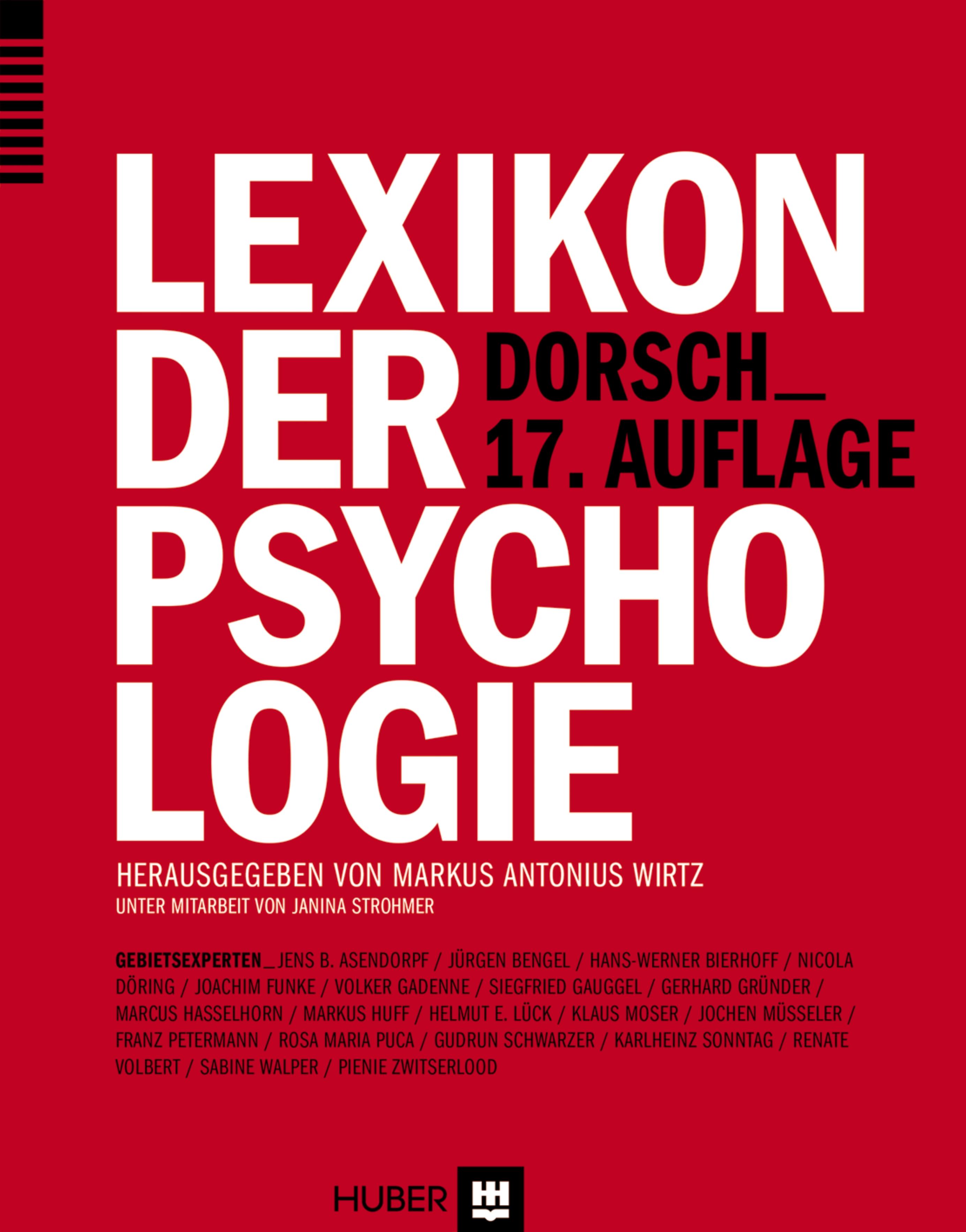 Dorsch - Lexikon der Psychologie - Funke, Joachim