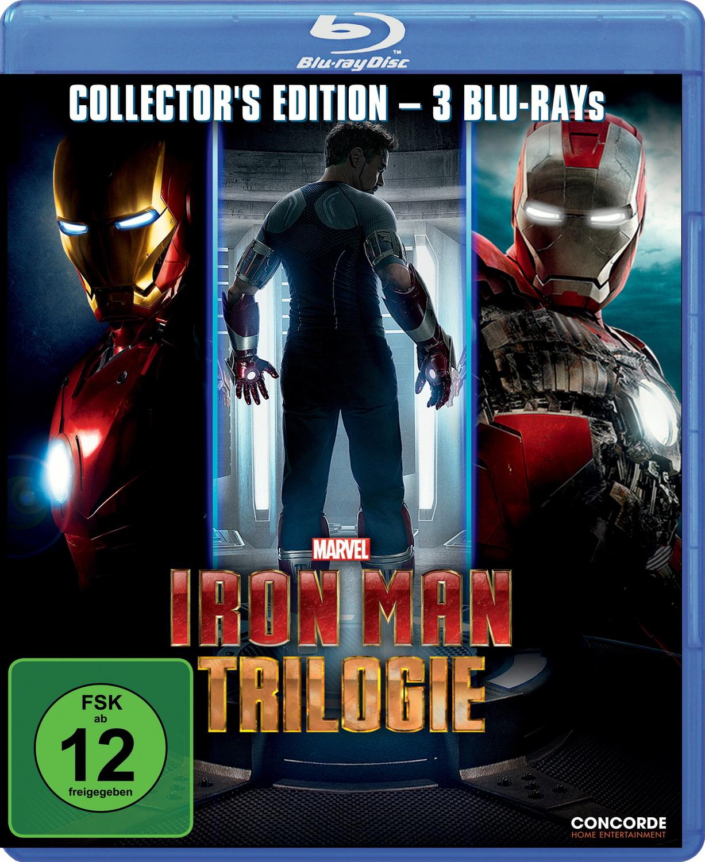 Iron Man Trilogie [Collector´s Edition, 3 Discs]