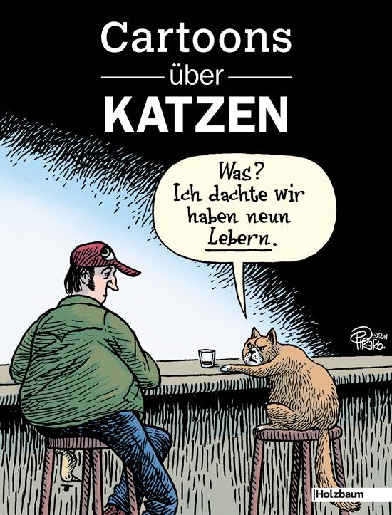 Cartoons über Katzen [Gebundene Ausgabe]