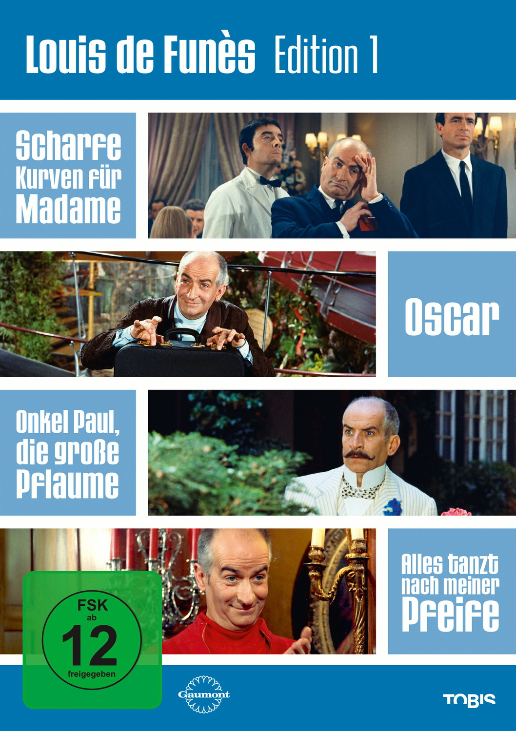 Louis de Funès Edition 1 [4 DVDs]