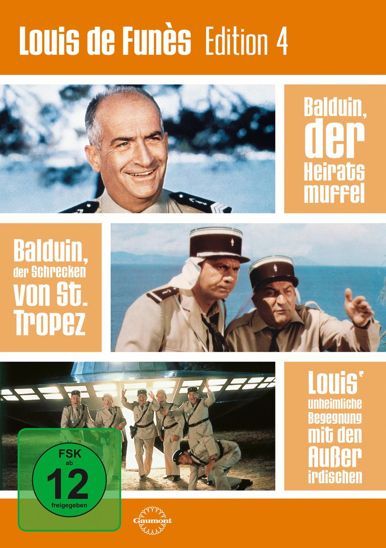 Louis de Funès Edition 4 [3 DVDs]
