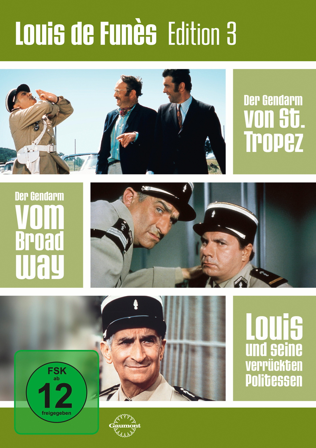 Louis de Funès Edition 3 [3 DVDs]