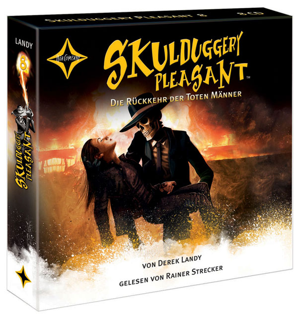 Skulduggery Pleasant - Folge 8: Die Rückkehr der Toten Männer [10 Audio CDs]