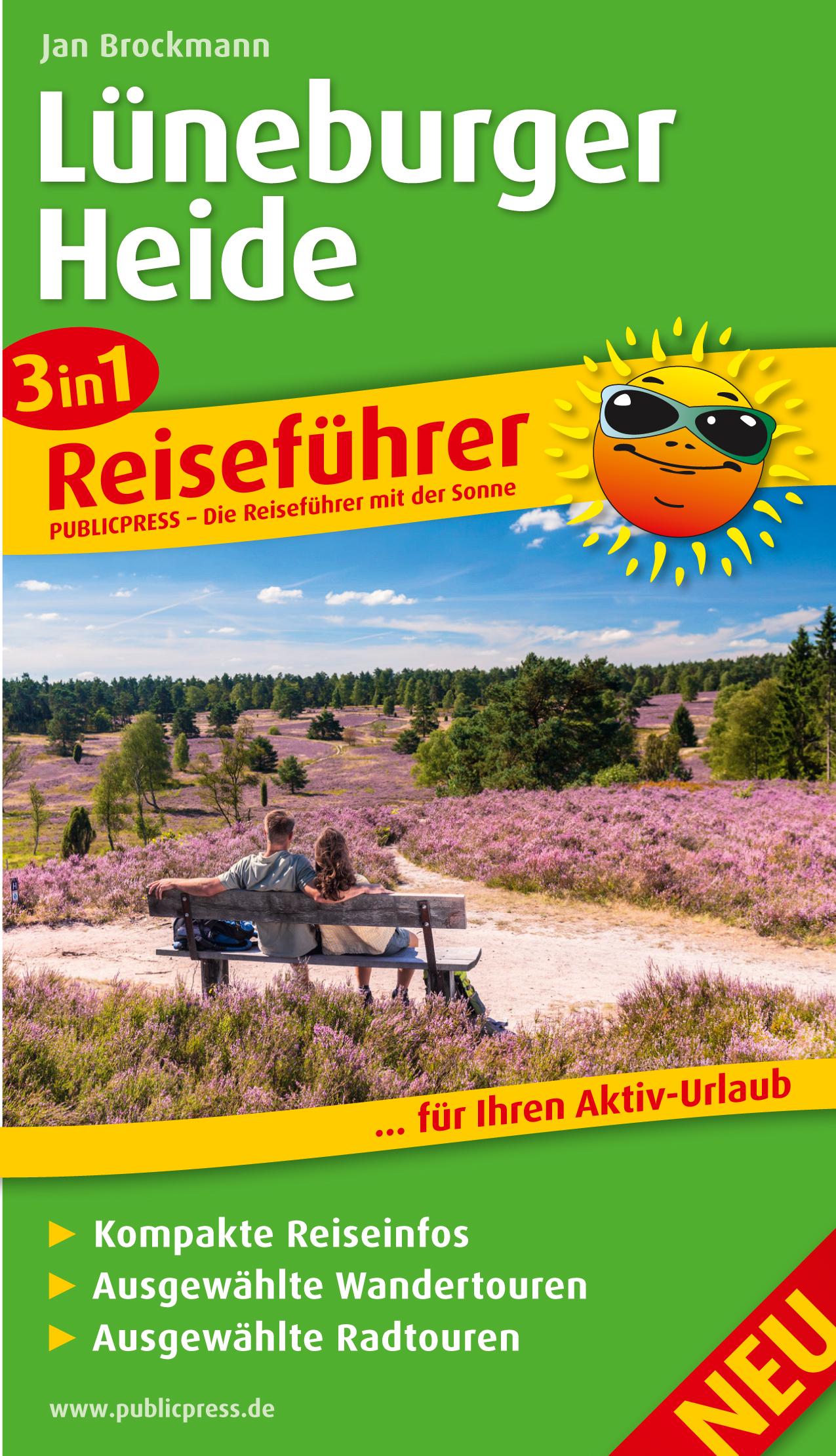 3in1-Reiseführer Lüneburger Heide ... für Ihren...
