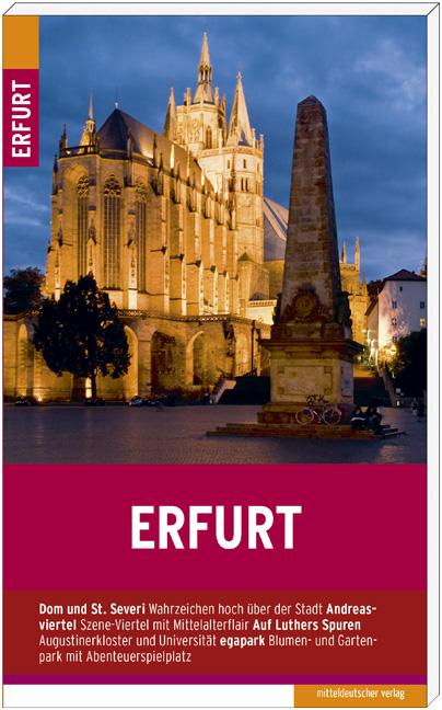 Erfurt: Stadtführer - Schareck, Andreas