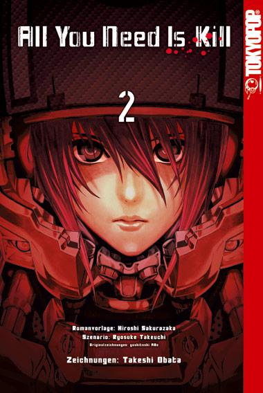 All You Need Is Kill Manga 02 - Obata, Takeshi