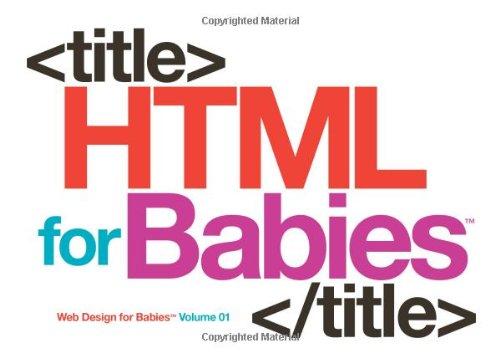 HTML for Babies (Web Design for Babies) - Vande...