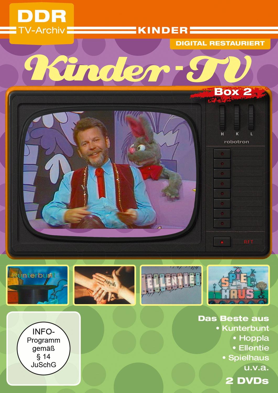 Das Beste aus dem Kinder-TV Box 2 [DDR-TV-Archiv, 2 DVDs]