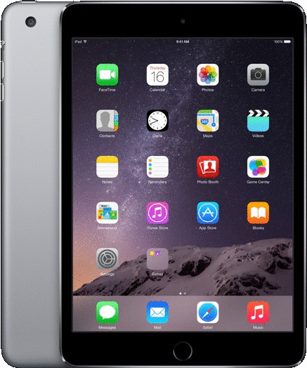 Apple iPad mini 3 7,9 16GB [Wi-Fi + Cellular] spacegrau