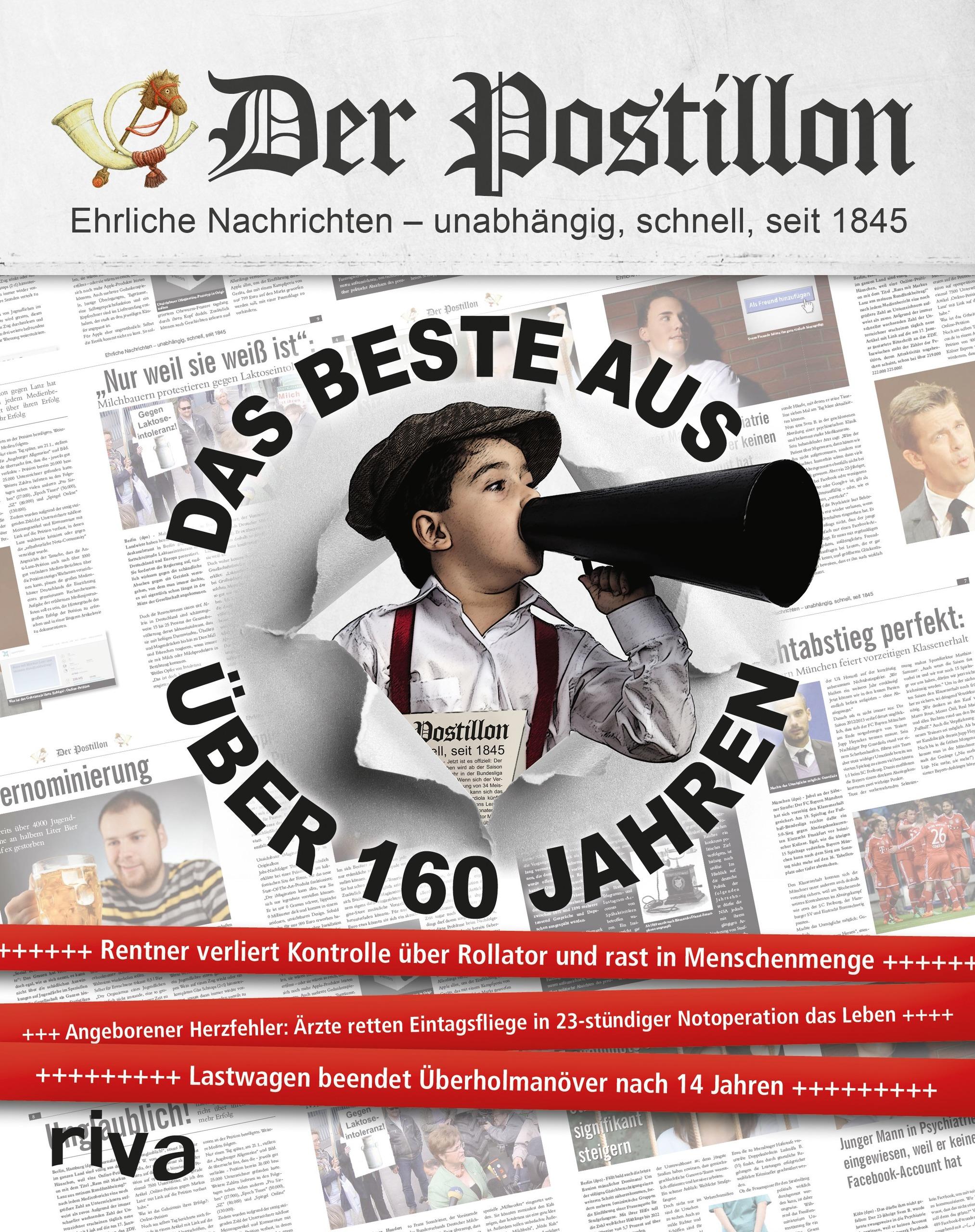 Der Postillon: Das Beste aus über 160 Jahren - Stefan Sichermann [Gebundene Ausgabe]