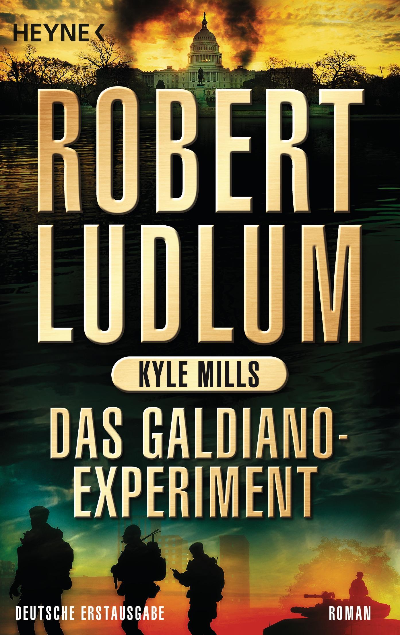 Das Galdiano-Experiment - Robert Ludlum [Taschenbuch]