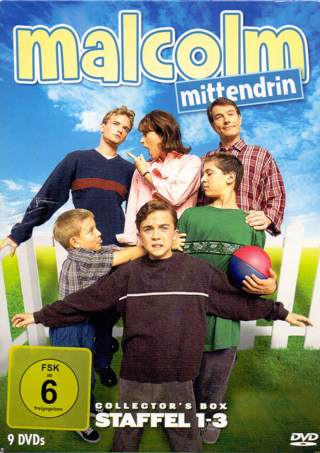 Malcolm mittendrin: Staffel 1-3 [9 DVDs, Collector´s Box]