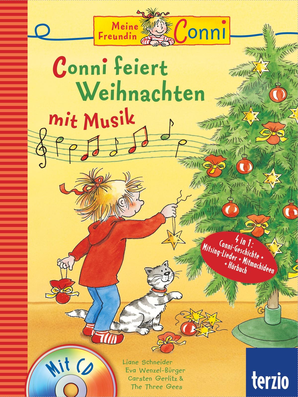 Conni Musicalbuch: Conni feiert Weihnachten mit...