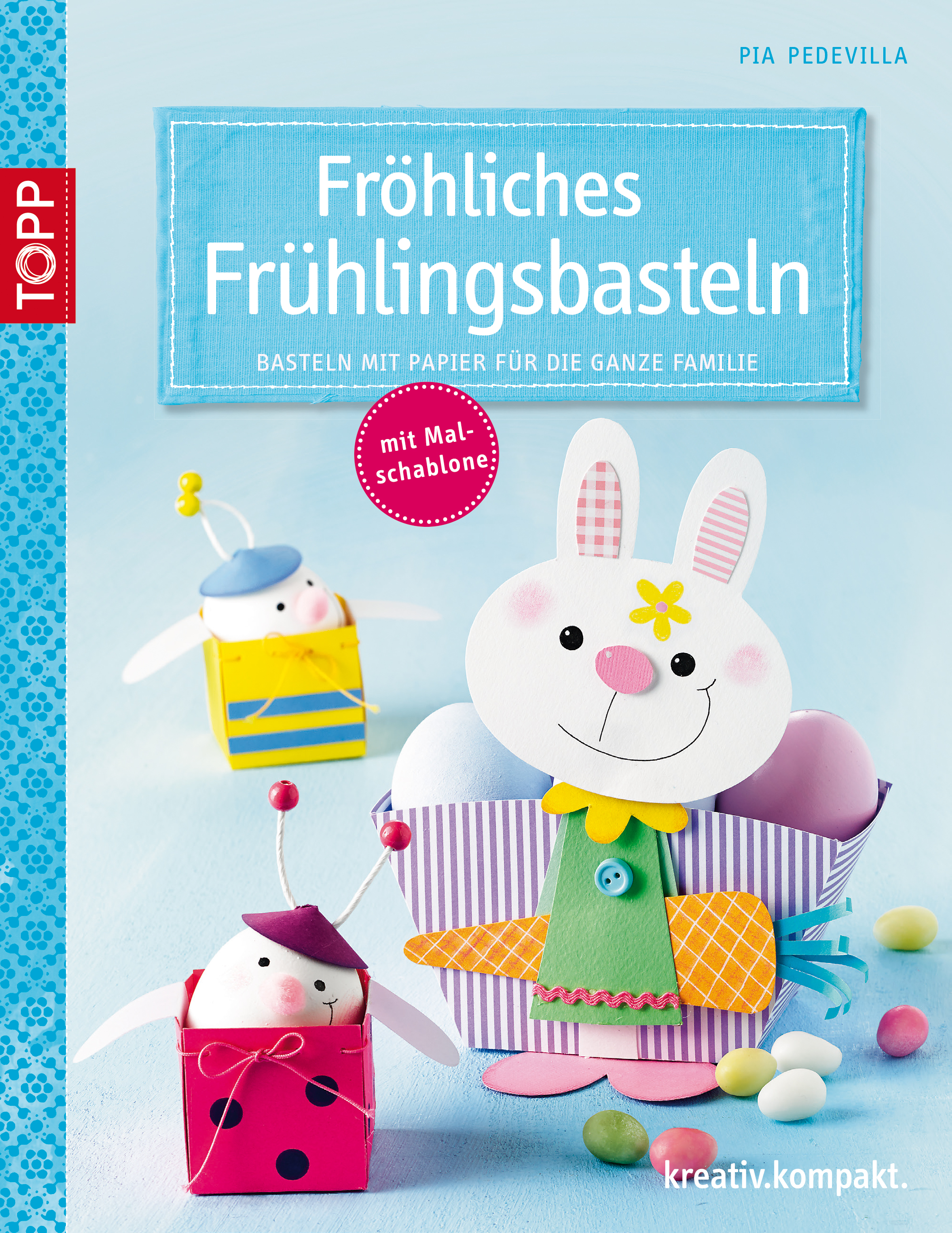 Fröhliches Frühlingsbasteln: Basteln mit Papier...