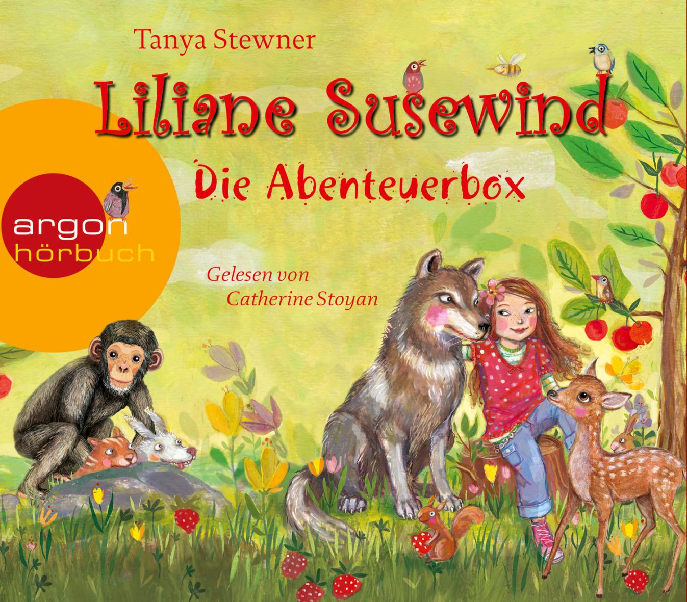 Liliane Susewind - Die Abenteuerbox: Rückt dem Wolf nicht auf den Pelz! / Ein Panda ist kein Känguruh / Schimpansen mach