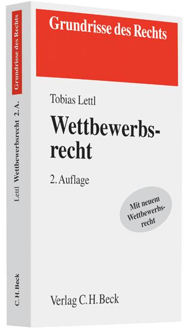 Wettbewerbsrecht - Lettl, Tobias