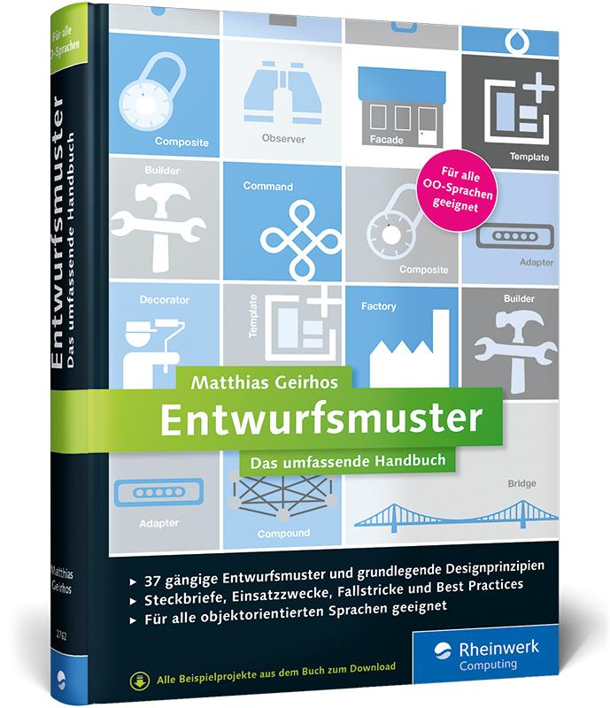 Entwurfsmuster: Das umfassende Handbuch - Matthias Geirhos [Gebundene Ausgabe]