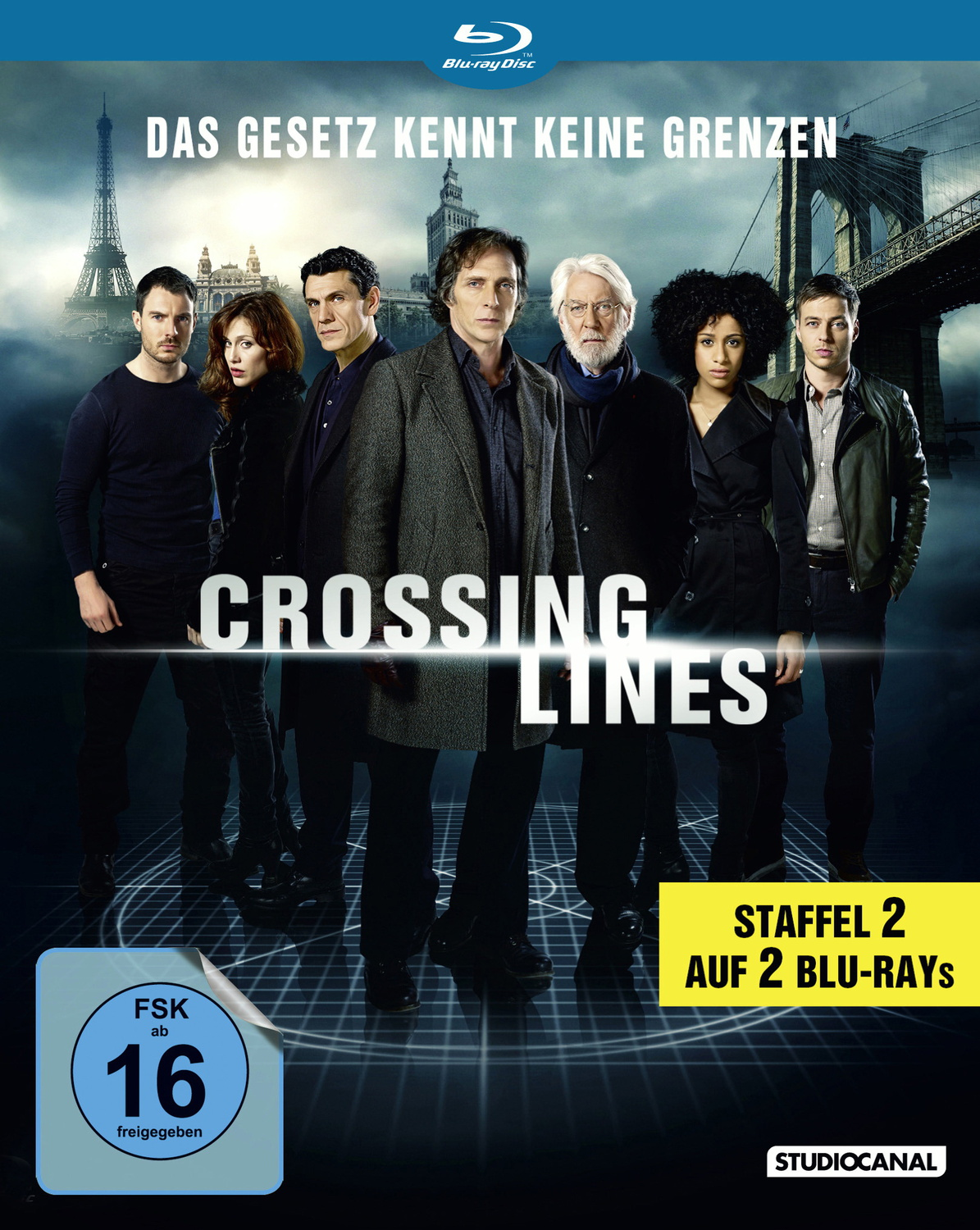 Crossing Lines - Staffel 2 [2 Discs]