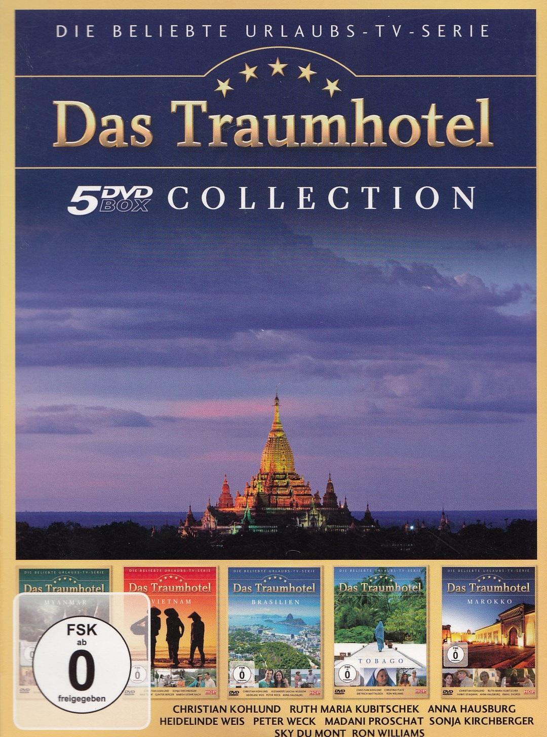Das Traumhotel: Vol. 4 - Die beliebte Urlaubs-TV-Serie [5 DVDs]