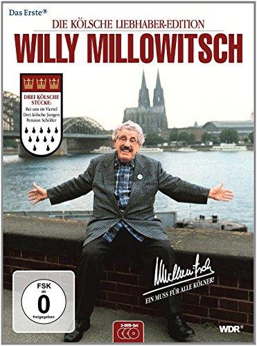 Willy Millowitsch - Die kölsche Liebhaber-Edition [3 DVDs]