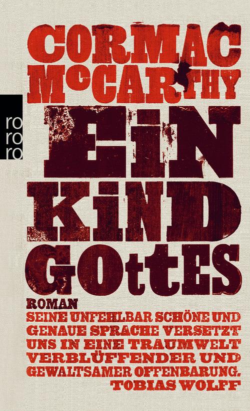 Ein Kind Gottes - Cormac McCarthy [Broschiert]