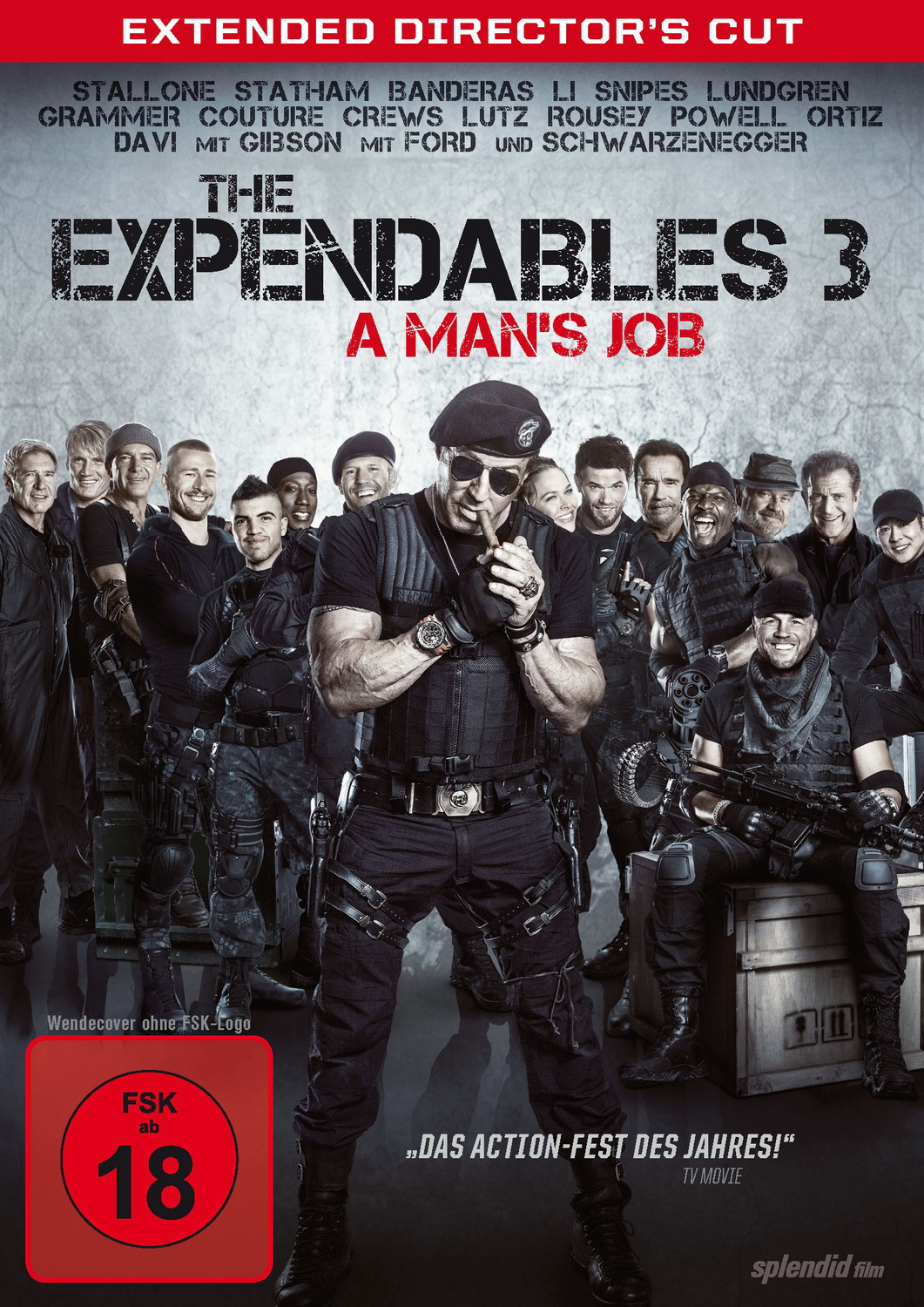The Expendables 3 - A Man´s Job [Director´s Cut]