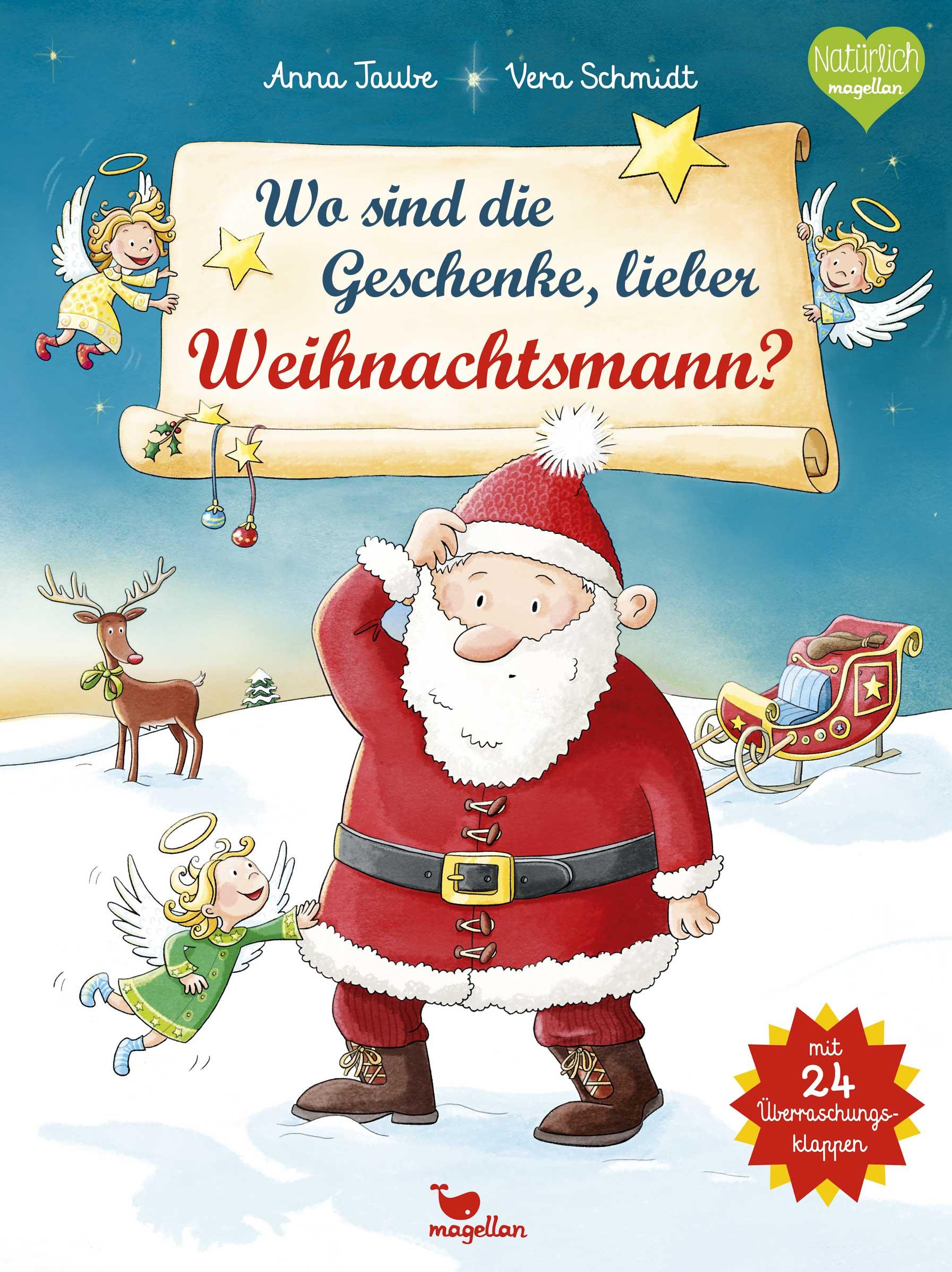Wo sind die Geschenke, lieber Weihnachtsmann? -...