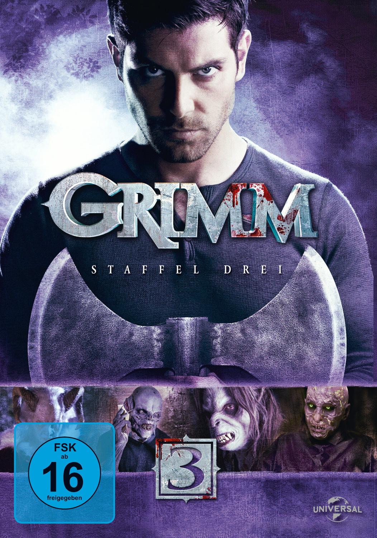 Grimm - Staffel 3 [6 DVDs]