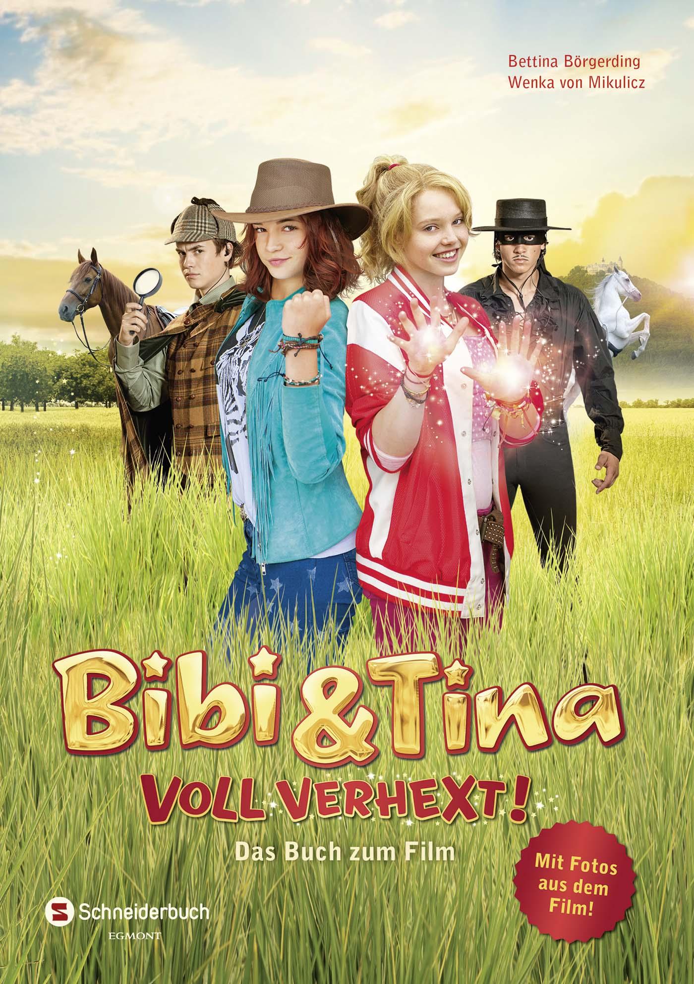 Bibi & Tina - Voll verhext!: Das Buch zum Film - Bettina Börgerding [Gebundene Ausgabe]