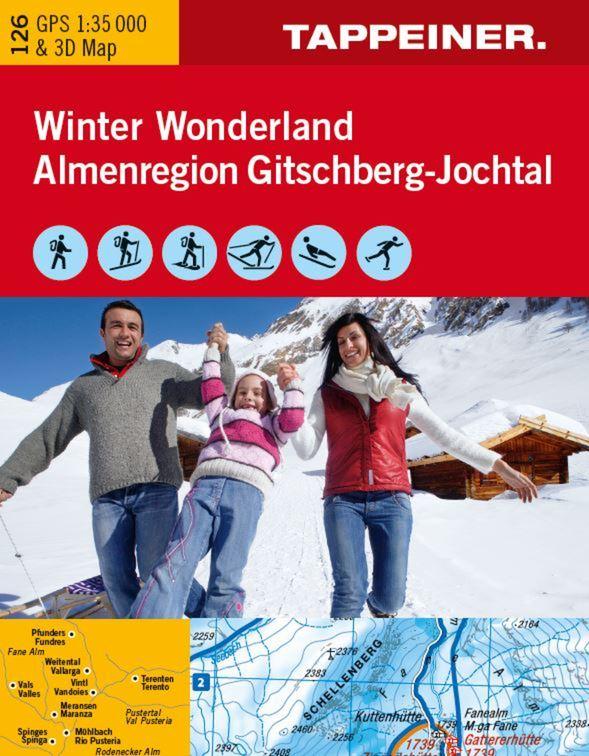 KOKA126 Winterkarte Winter Wonderland Gitschberg-Jochtal - Tappeiner