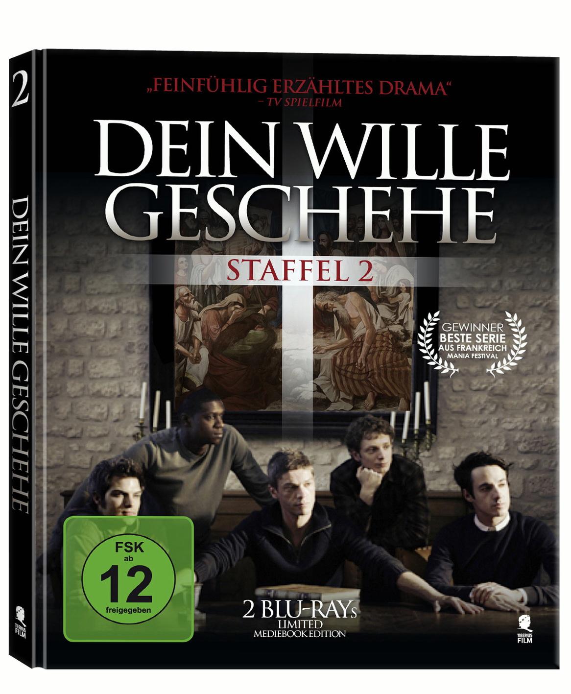 Dein Wille geschehe - Staffel 2 [Mediabook, 2 Discs]