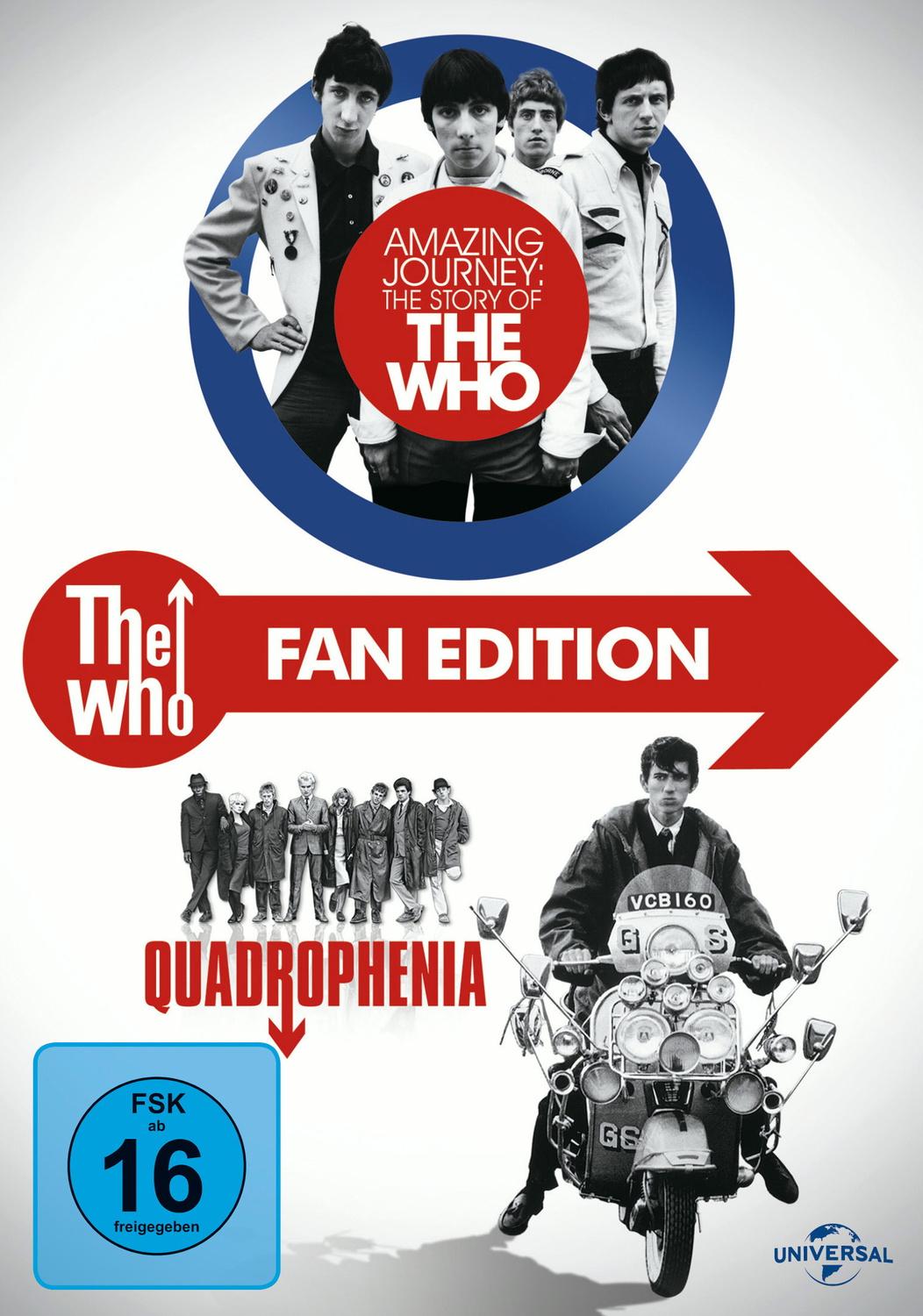The Who - Amazing Journey: The Story of The Who / Quadrophenia (Limited Fan Edtion, 3 Discs) [Limited Edition]