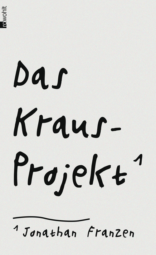Das Kraus-Projekt - Jonathan Franzen [Gebundene Ausgabe]