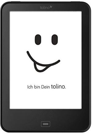 Tolino Vision 2 6 4GB [Wi-Fi] schwarz