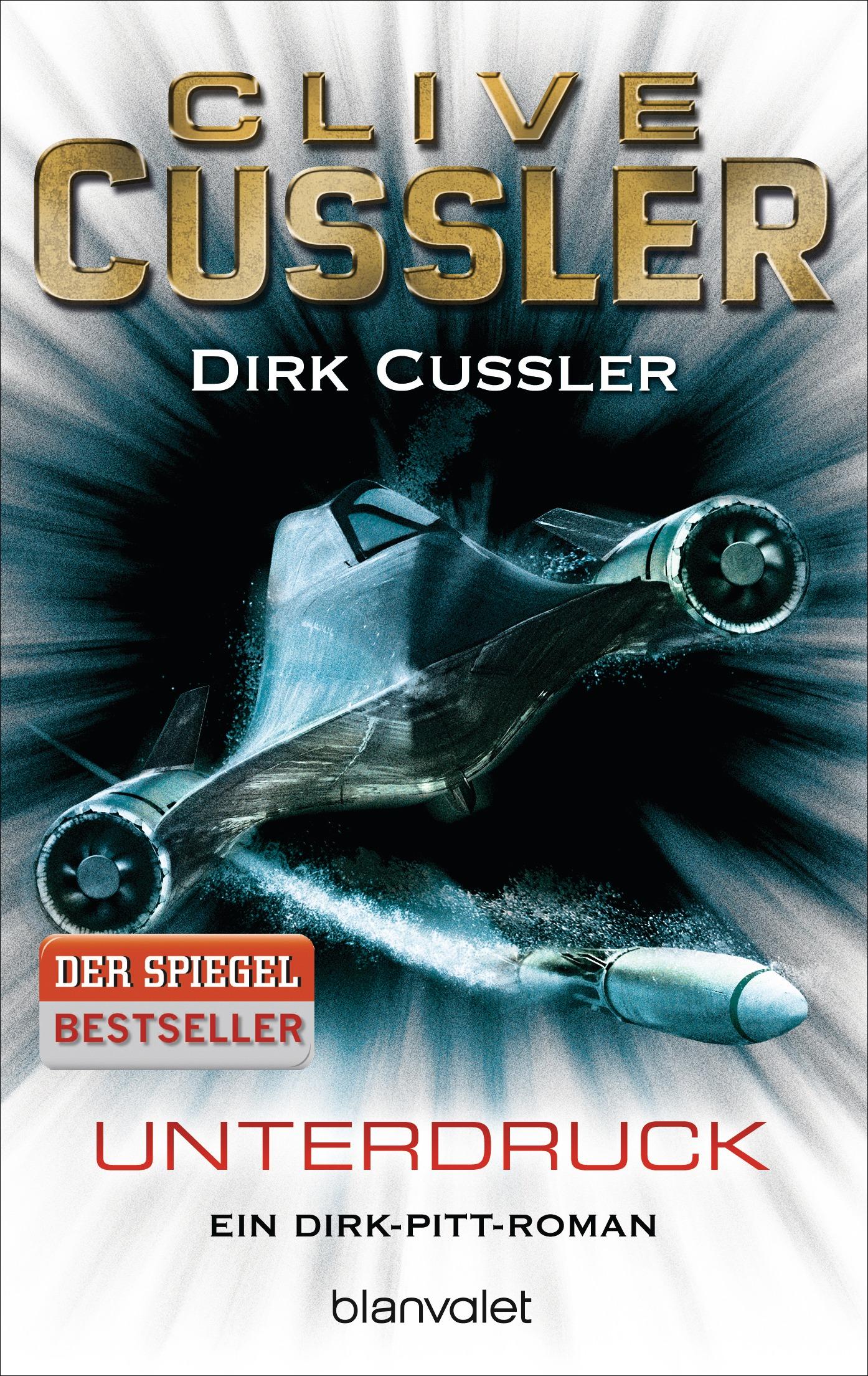 Unterdruck: Ein Dirk-Pitt-Roman - Clive Cussler