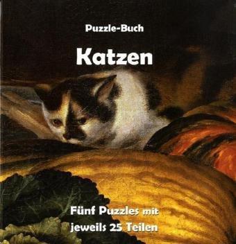 Katzen: Puzzle-Buch