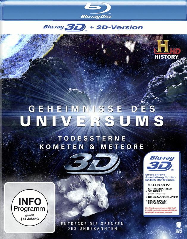Geheimnisse des Universums: Todessterne - Kometen - Meteore (History) 3D