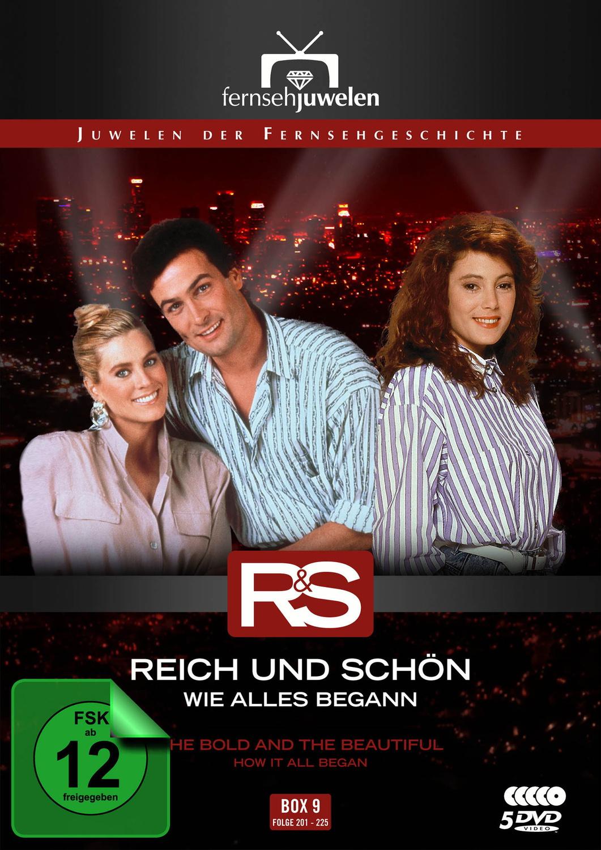 Reich und schön - Wie alles begann: Box 9 - Folgen 201-225 [Fernsehjuwelen, 5 DVDs]