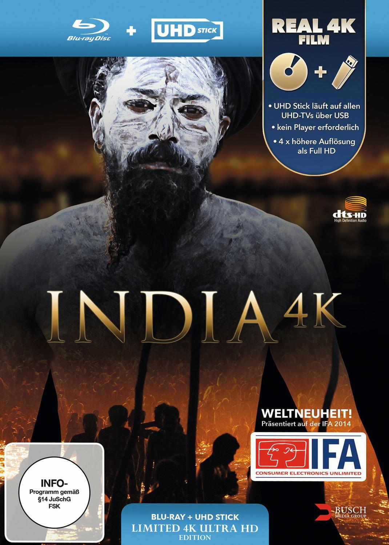 India 4K [inkl. UHD Stick in Real 4K]