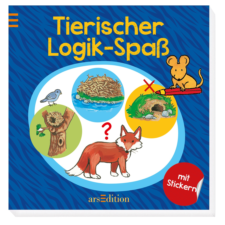 Tierischer Logik-Spaß (Tierische Rätsel-Reihe) ...