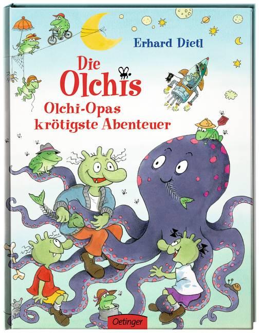 Die Olchis. Olchi-Opas krötigste Abenteuer - Dietl, Erhard